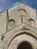 Christian Georgia. Majestic temple Bagrati. Georgia. Kutaisi Stock Photography