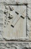 Christian gravestone Stock Photography