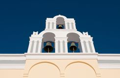 Christian Greek belfry tower Stock Photos