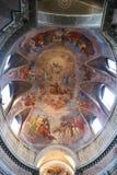 Christian Heaven-Malerei innerhalb der Basilika des Heiligen Mary Major Lizenzfreie Stockbilder