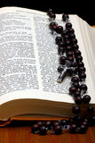 Christian Holy Bible Stock Image