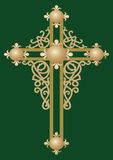 Christian Holy cross 2. Christian Holy cross with ornament Royalty Free Stock Image