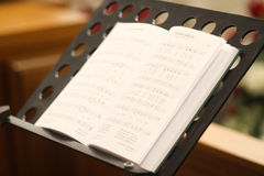 Christian hymns Royalty Free Stock Photos