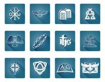 Christian Icon Symbols Foto de archivo