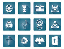 Christian Icon Symbols Royalty Free Stock Photo