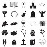 Christian Icons Collection Royalty Free Stock Image