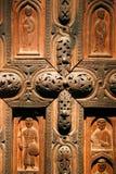 Christian Icons en el Museo Nacional georgiano - Tbilisi fotografía de archivo libre de regalías