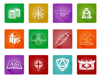 Christian Icons Stock Photography