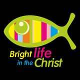 Christian illustration. Bright life in the Christ.