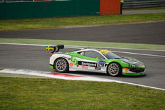 Christian Kinch Ferrari 458 Challenge Evo at Monza Royalty Free Stock Image