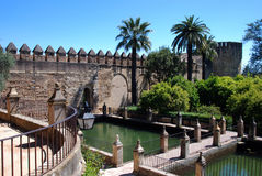 Christian Kings Fortress, Cordoba, Spain. Royalty Free Stock Photo