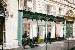 Christian Laboutin lager Paris Royaltyfria Bilder