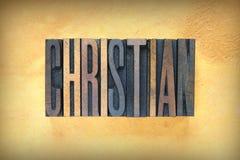 Christian Letterpress immagini stock