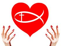 Christian love Stock Images