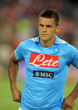Christian Maggio of SSC Napoli Royalty Free Stock Images