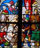 Christian Martyr - verre souillé photo libre de droits