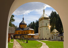 Christian monastery Stock Photos