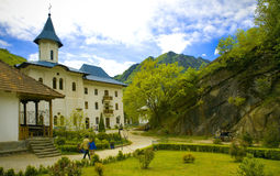 Christian monastery Royalty Free Stock Photography