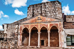 Christian monastery on fortress Royalty Free Stock Image