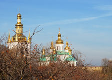 Christian monastery Lavra in Kiev, Ukraine Royalty Free Stock Images