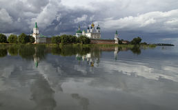 Christian monastery in Rostov, Russia. Stock Images