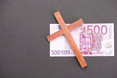 Christian money Stock Photo