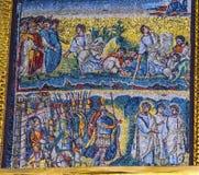 Christian Mosaics Basilica Santa Maria antique Maggiore Rome Italie images libres de droits