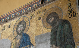 Christian Mural Stock Image