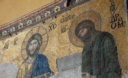 Christian Mural Stock Image