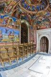 Christian Murals. At the Rila monastery in Bulgaria Stock Image