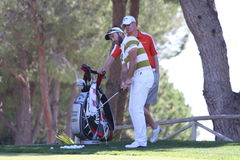 Christian Nilsson at Andalucia Golf Open, Marbella Stock Photo