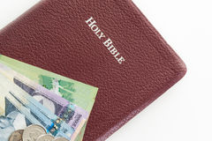 Christian offering or tithe Royalty Free Stock Image