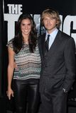 Christian Olsen, Daniela Ruah, Eric Christian Olsen Royalty Free Stock Photography