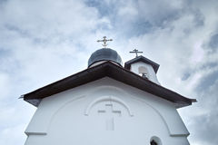Christian orthodox chapel Royalty Free Stock Photos