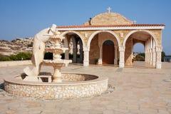 Christian Orthodox Church. Contemporary Christian Orthodox Church (Ayia Napa, Cyprus Royalty Free Stock Image
