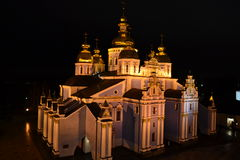 Christian Orthodox Church. Cathedral of St. Andrew in Kiev Stock Photo