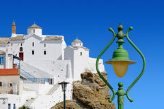 Christian Orthodox Church all'isola di Skopelos Immagini Stock Libere da Diritti