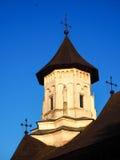 Christian Orthodox Church av den Sucevita kloster royaltyfri foto