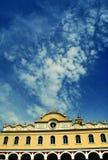 Christian Orthodox Church av jungfruliga Mary i den Tinos ön, Grekland Royaltyfria Foton