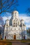 Christian Orthodox Church of Beheading of St. John the Forerunner in Kolomenskoye, Russia, Moscow.  Royalty Free Stock Photos