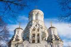 Christian Orthodox Church of Beheading of St. John the Forerunner in Kolomenskoye, Russia, Moscow.  Stock Photos