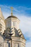 Christian Orthodox Church of Beheading of St. John the Forerunner in Kolomenskoye, Russia, Moscow.  Stock Image