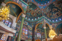 Christian Orthodox church interior Stock Image