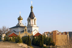 Christian Orthodox church, Moldova Royalty Free Stock Image