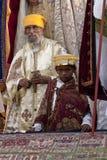 Christian Orthodox devotees Stock Photo