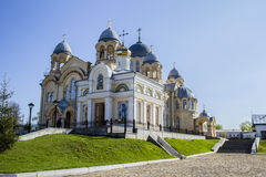 Christian orthodox monastery. Men's monastery in Russia, Verkhoturye Royalty Free Stock Images