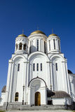 Christian orthodox monastery. Monastery in Russia Royalty Free Stock Photos