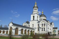 Christian orthodox monastery Stock Images