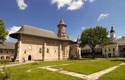 Christian orthodox monastery church Royalty Free Stock Photo