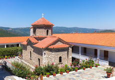 Christian orthodox monastery in Malevi, Peloponnese, Greece Stock Photography